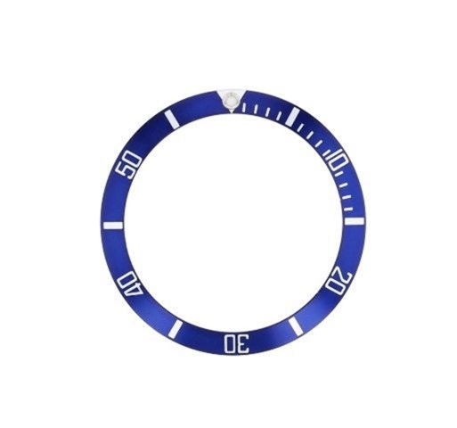 bezel insert for invicta 8926c pro diver watch blue silver fonts ebay. Black Bedroom Furniture Sets. Home Design Ideas