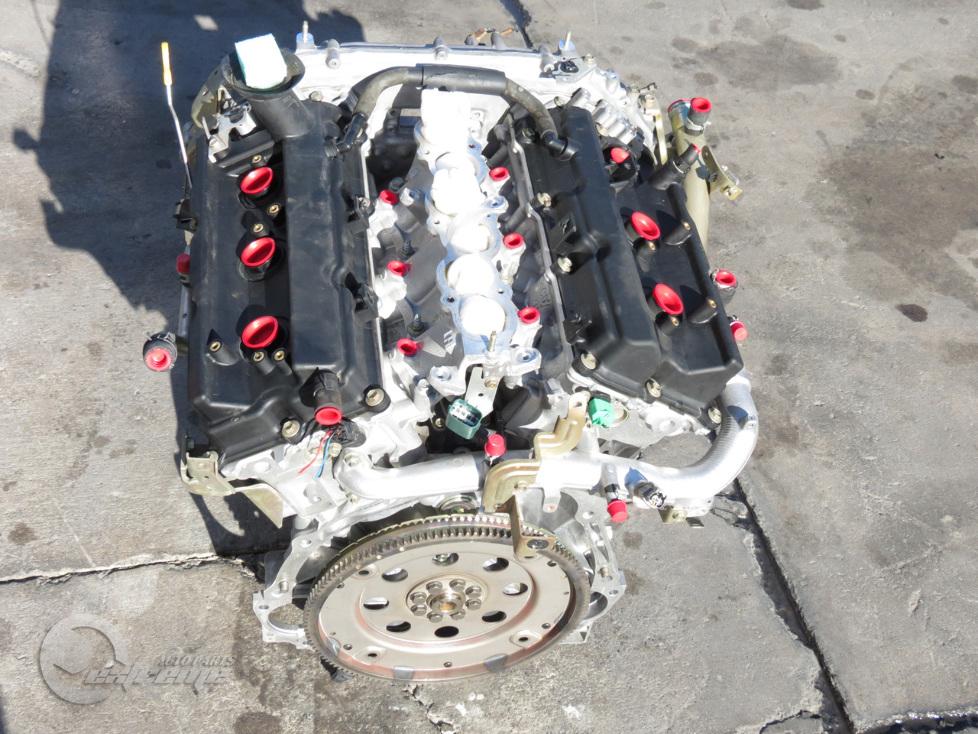 Infiniti G35 03-04 Engine Motor Long Block Assembly RWD N ...
