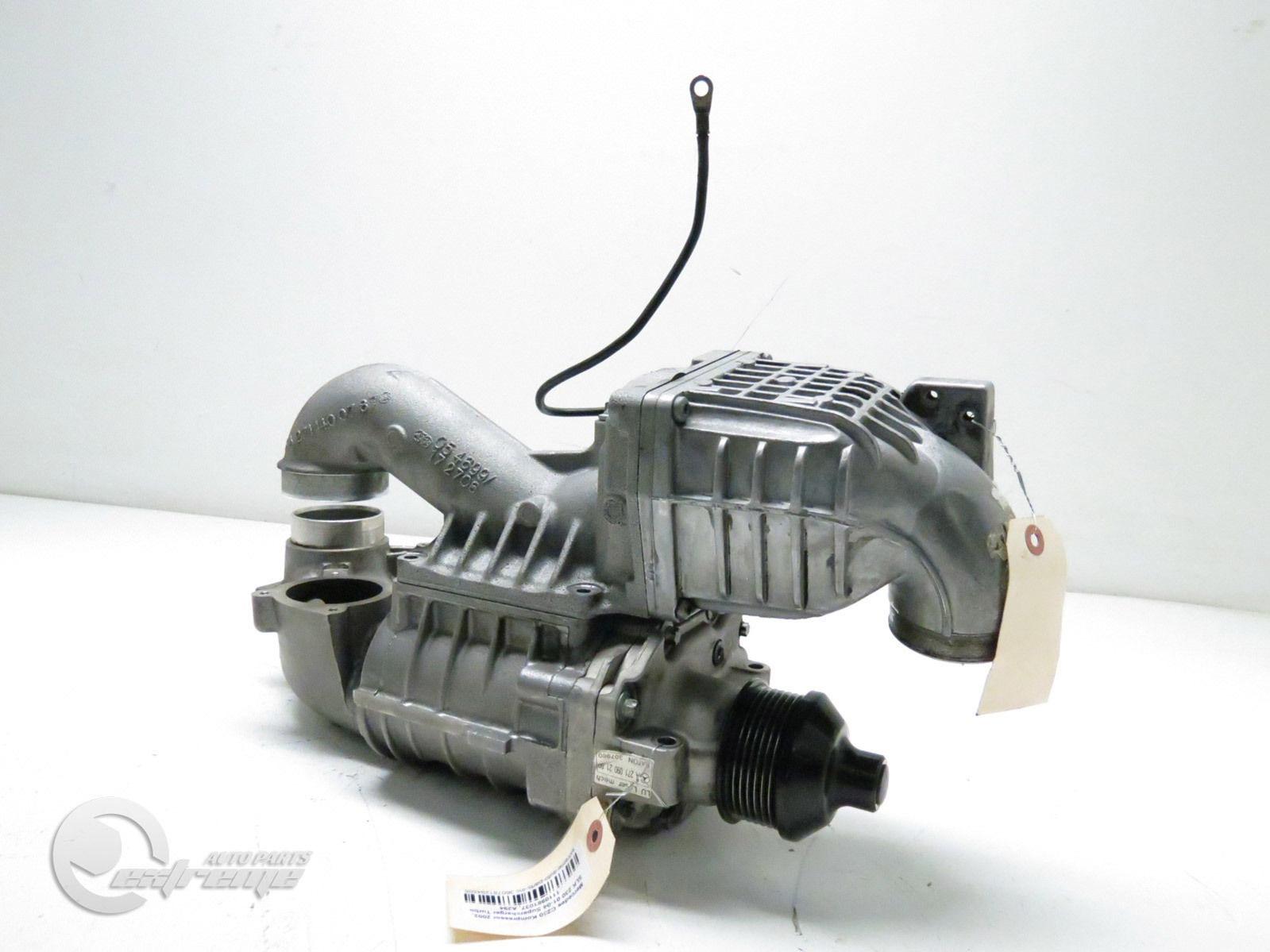 Mercedes c230 kompressor 2002 slk 230 supercharger turbo for Mercedes benz slk 230 kompressor parts
