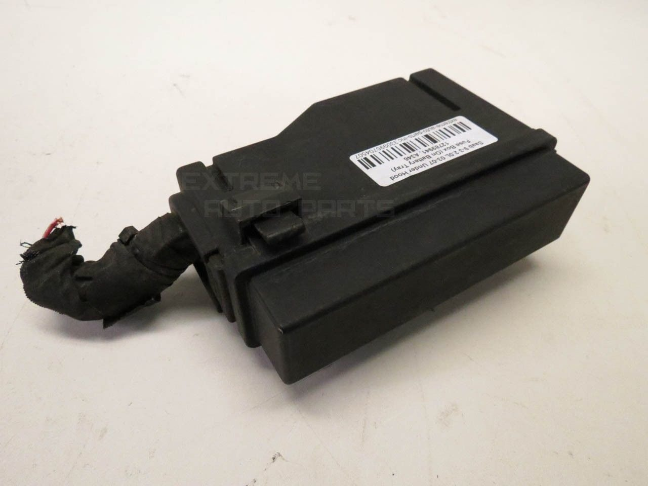 saab 9 3 12788777 secondary under hood fuse box on battery