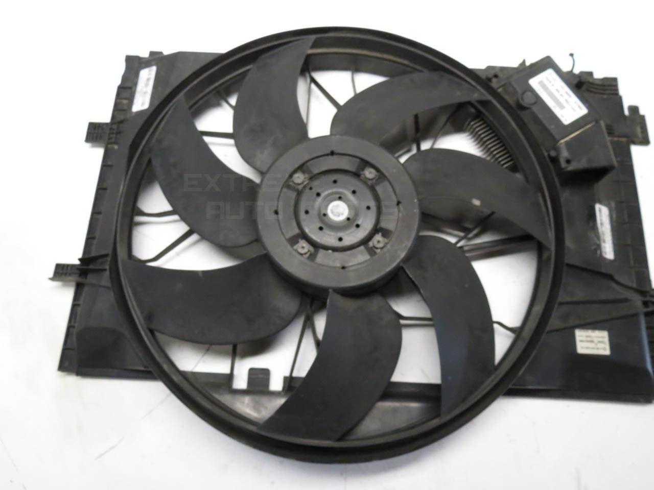 02 Cool Fan : Mercedes c radiator cooling fan motor w shroud