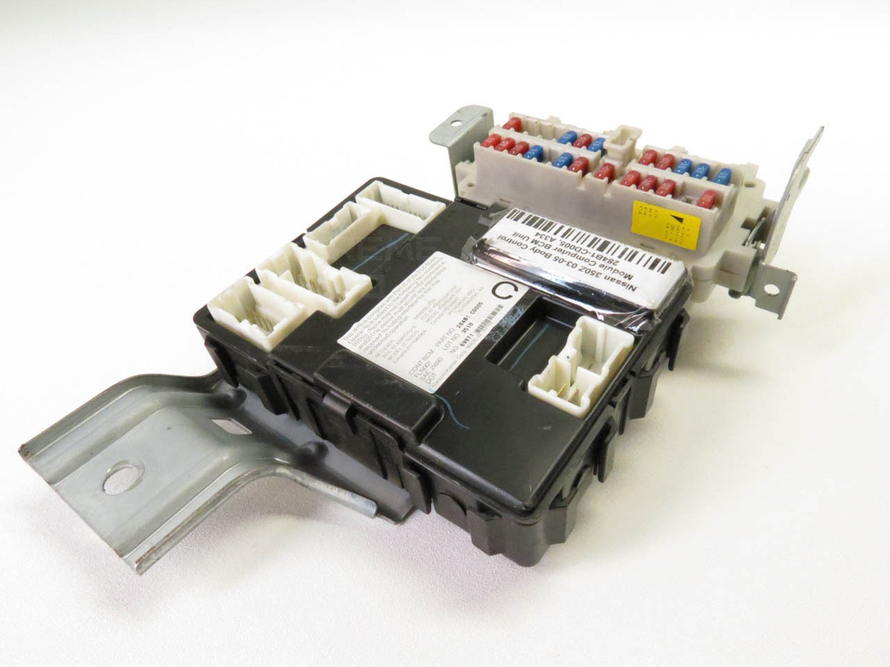 nissan 350z 05 under dash bcm body control fuse box relay 350z fuse box diagram under hood