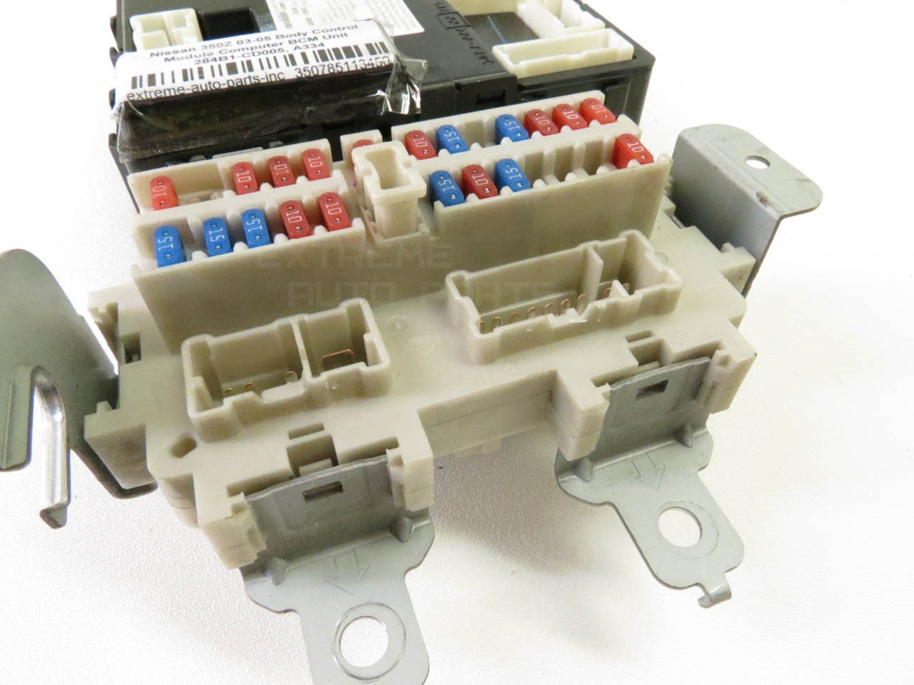Nissan 350Z 05 Under Dash BCM Body Control Fuse Box Relay