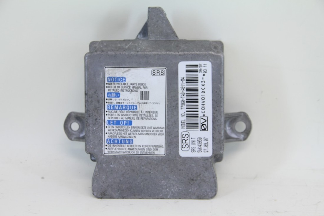 Ta A Honda Accord Sedan Srs Unit Air Bag Module  puter Ta A on 2008 honda accord srs module location