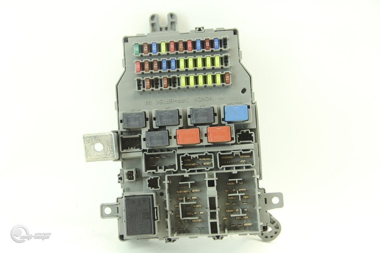 Fuse Box 03 Honda Accord Free Wiring Diagram For You 1999 Sedan Ex 04 Interior Dash Relay Location