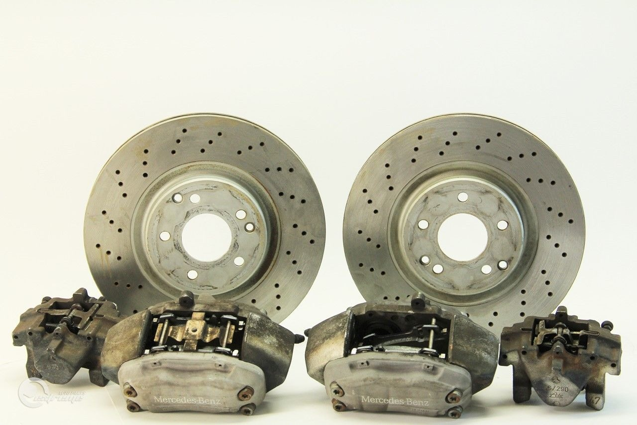 Mercedes Benz C230 04 Brembo Sport Brake Caliper Set Of 4