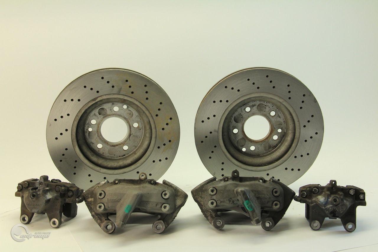 Mercedes benz c230 04 brembo sport brake caliper set of 4 for Mercedes benz brake calipers