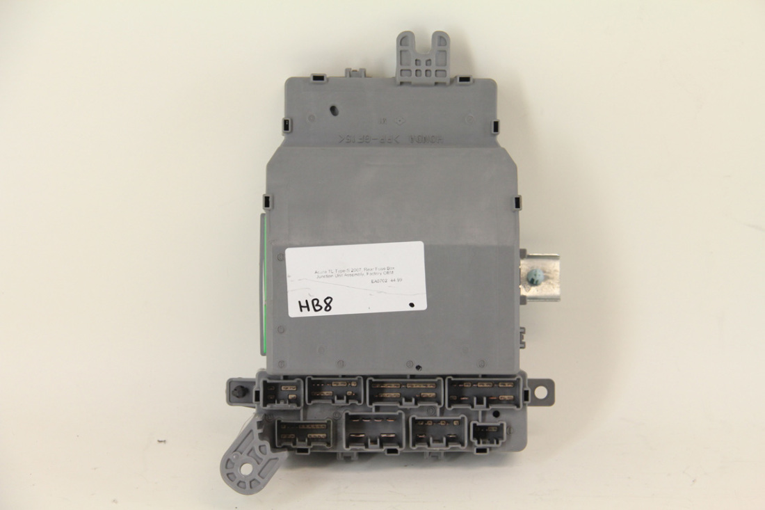 Acura tl type s 2007 rear fuse box junction unit assembly for Acura tl type  s
