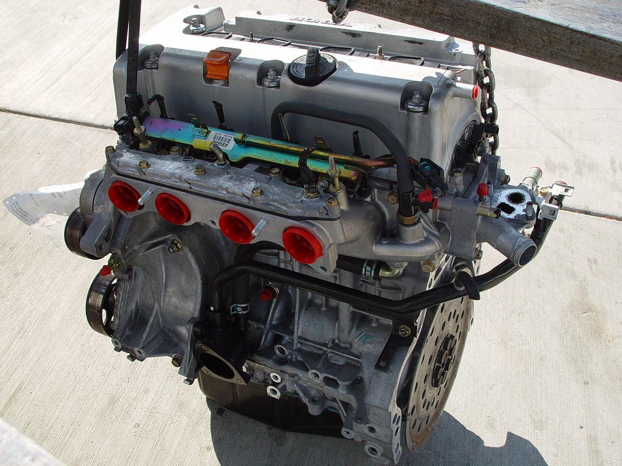 honda accord 03 07 engine motor long block assembly 2 4l 4. Black Bedroom Furniture Sets. Home Design Ideas