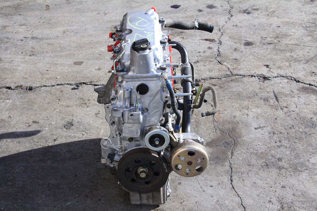 honda fit 07 08 m t engine motor long block assembly 155k miles 2007 ebay. Black Bedroom Furniture Sets. Home Design Ideas