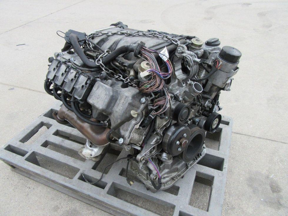 Mercedes s500 engine motor long block assy 5 0l v8 177k for Mercedes benz v8 engines
