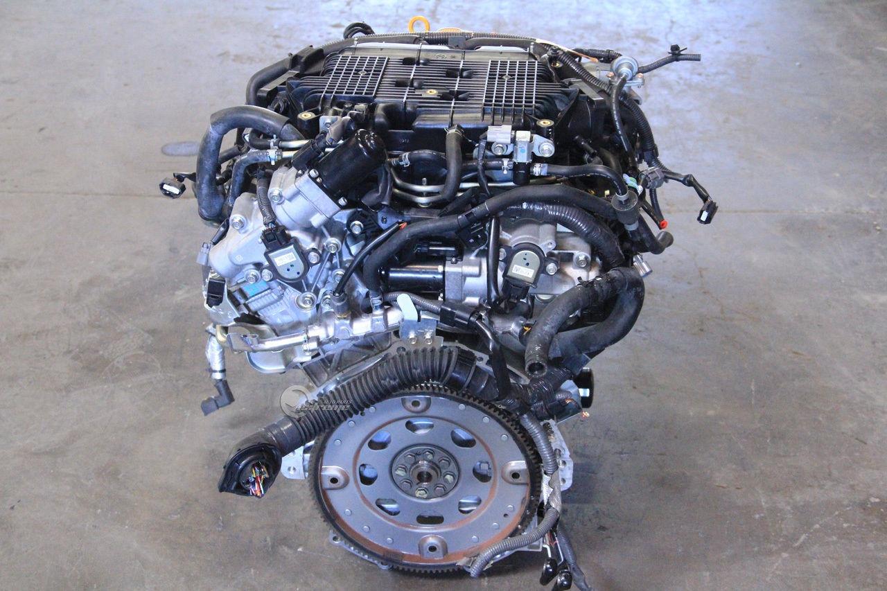 infiniti g37 09 10 engine motor long block assembly rwd 100k mi 3 7l v6 2009 extreme auto parts. Black Bedroom Furniture Sets. Home Design Ideas