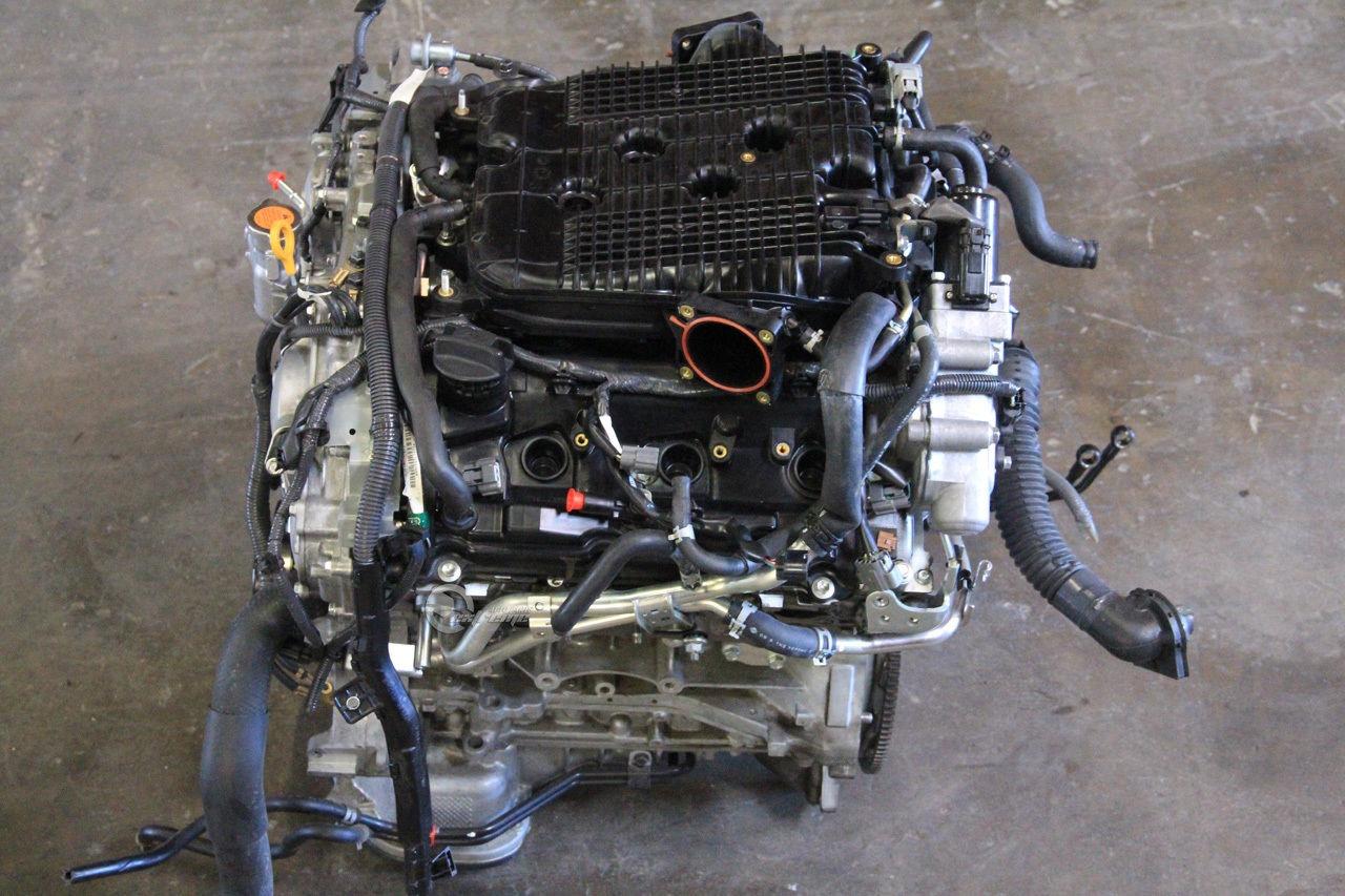 infiniti g37 09 10 engine motor long block assembly rwd n a mi 3 7l v6 2009. Black Bedroom Furniture Sets. Home Design Ideas