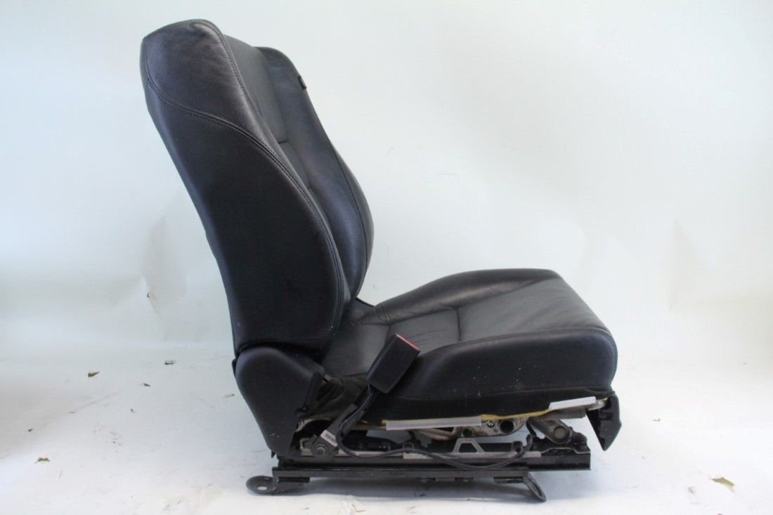 honda accord coupe 08 10 front driver left seat black leather oem ebay. Black Bedroom Furniture Sets. Home Design Ideas