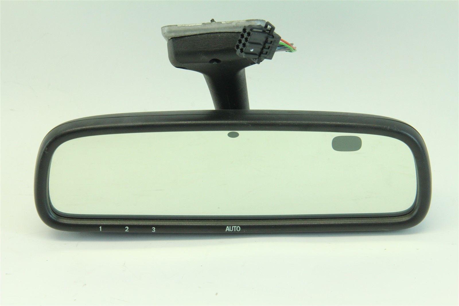 Saab 9 3 03 11 espejo retrovisor interior auto dim homelink ventana de cristal 12791048 ebay for Interior rear view mirror replacement glass
