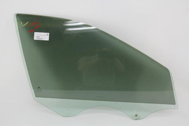 Mercedes C230 Sedan 02-05 Door Glass Window, Front Right/Pass Side 2037250210
