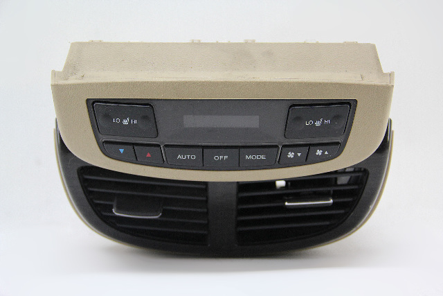 Acura MDX Ivory Center Console Rear Cover Climate Control 79650-STX-A91ZA OEM 07-09
