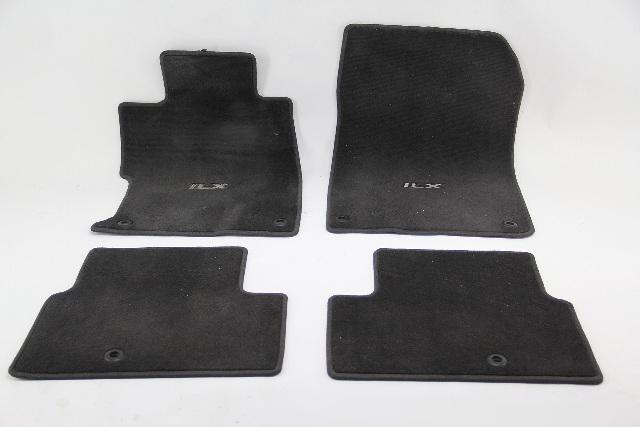 Acura ILX Interior Carpet 4 Piece Floor Mat Set Black OEM 13 14 15 16 17 18