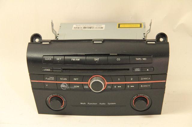 Mazda 3 0405 Factory Cd Player Amfm Radio Information Display Rhextremeautoparts: Mazda 3 Radio Display At Gmaili.net