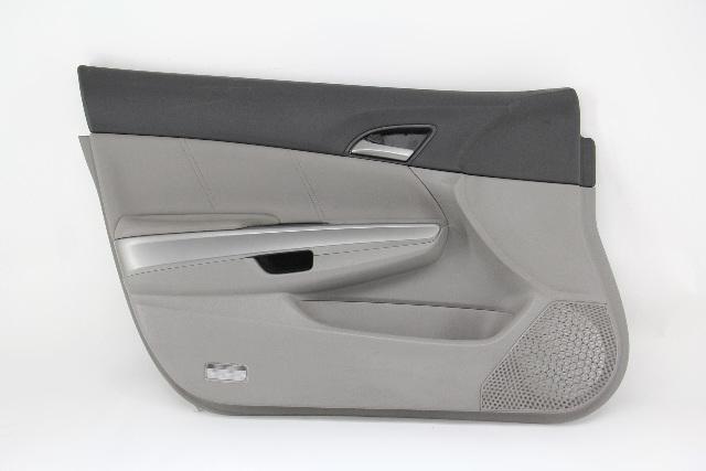 Honda Accord Sedan 08 09 10 11 12 Door Panel Front Left, Cloth, Gray 83552-TA0-A