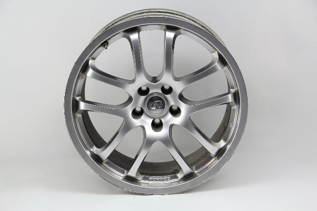Infiniti G35 Alloy Wheel Disc Rim, Rear 19x8 1/2, 10 Spoke D0300- AC84B 03-07 #6
