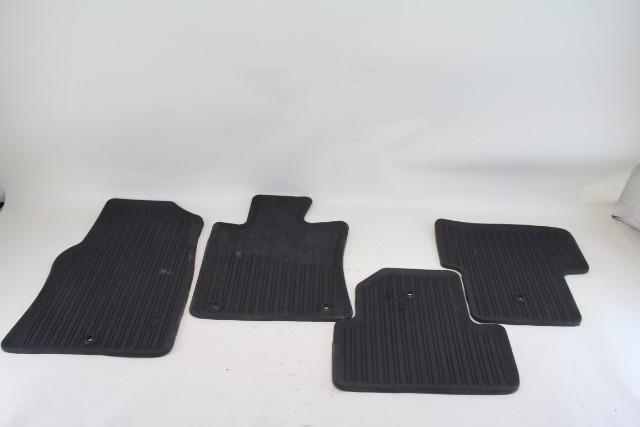 Acura Tl All Season Weather Floor Mats 4 Piece Set Black Oem 2009