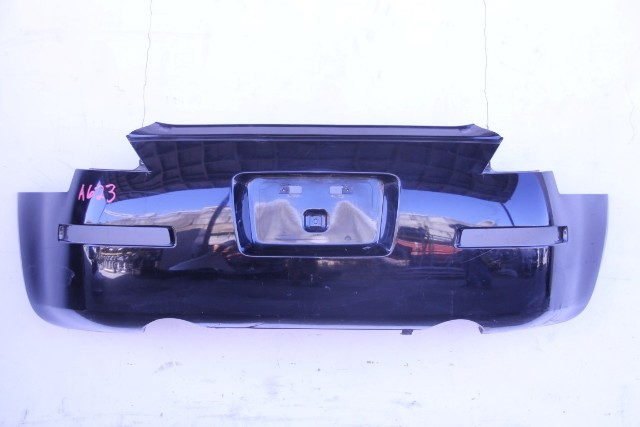 Nissan 350Z 03-09 Rear, Bumper Face Cover, Black HEM22-CF41H