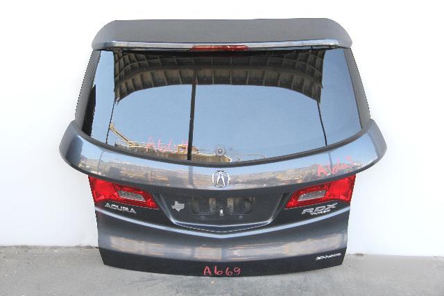 Acura RDX Tail Gate Trunk Deck Lid Grey/Gray OEM 68100-STK-A91 2007 2008 2009 07