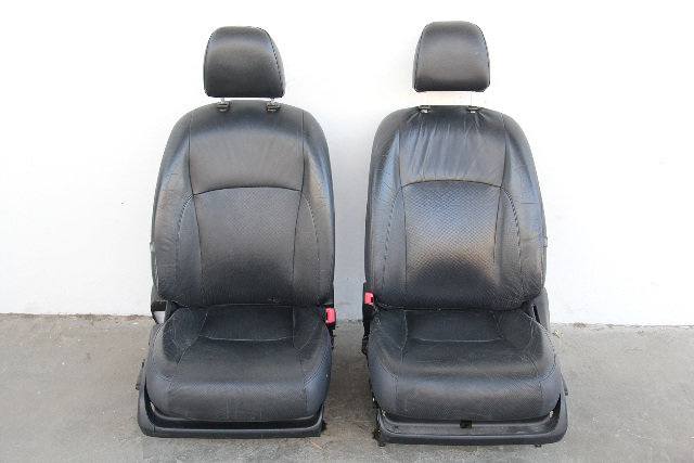 Lexus ES350 11 Front Black Driver Right/Left Passenger/Driver Seat Set Leather OEM