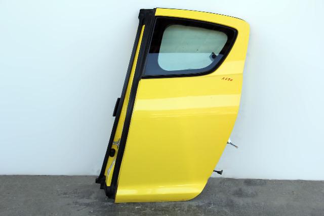 Mazda RX8 04-11 Rear Door Assembly Left/Driver's Side Yellow OEM FEY17302XA