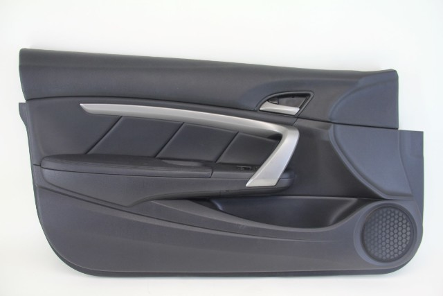 Honda Accord Coupe 08 12 Door Panel Front Left Leather Black 83570 Te0 A52za Extreme Auto Parts