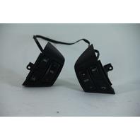 Saab 9-3 03-11 Steering Wheel Switch Set w/o Ceptronic, Black 12759541