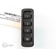 Saab 9-3 03-07 Power Seat Memory Control Switch 12791026