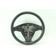 Saab 9-3 Sedan 03-05 Leather Steering Wheel w/ Switches, Black 12796742