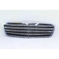 Mercedes C230 Sedan 02-04 Front Hood Grille Grill, Gray Chrome 2038800483