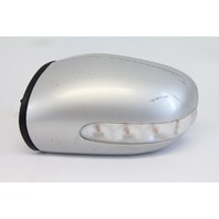 Mercedes C230 01-06 Side View Mirror, Left/Driver's Side, Silver 2038100721