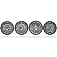 Mercedes C-Class 2017 17 OEM 19x8.5 Wheels Rims w/Tires Continental 2054011400