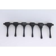 Infiniti QX60 Ignition Ignitor Coil Plug Set of 6 Pack 22448-JA11C OEM 14-17 20144