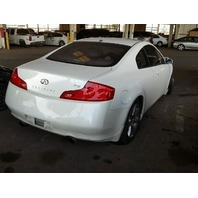 2007 Infiniti G35 Parting Out AA0616