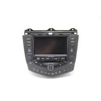 Honda Accord 6CD Changer XM, Navigation GPS Unit Player Screen 39051-SDN-L41, 04