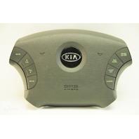 Kia Amanti 04 05 06 Steering Wheel Airbag, Gray, Leather W/Buttons 56900 3F940ML