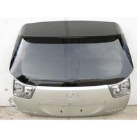Lexus RX 330 04-06 Trunk Deck Lid Tail Lift Gate, Silver 67005-0E080