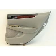 Lexus ES300 2003 Rear Right Door Panel Trim, Gray Leather 67630-33673-B1