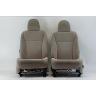 Toyota Highlander 08 09 10 Cloth Seat Sets Tan Front Passenger/Driver Side OEM