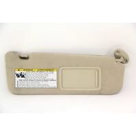 Lexus ES350 Left Sun Visor Shield, Beige, 74320-33A40 Tan, 07 08 09 10 11