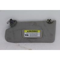 Acura TL Sun Visor Sunvisor Left/Driver Side Gray Grey 83280-SEP-A02ZE OEM 07-08