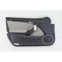 Acura TL Type-S 07-08 Front Left Door Panel Lining Trim Black/Gray 83586-SEP-A13