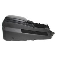 Infiniti QX56 Front Center Console Black Leather 96994-ZQ10B 08-10 OEM