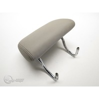 Mercedes CL500 00-06 Rear Head Rest Cushion Gray Leather