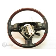 Lexus ES 330 05-06 Leather Steering Wheel w/ Audio Display Cruise Switch, Red